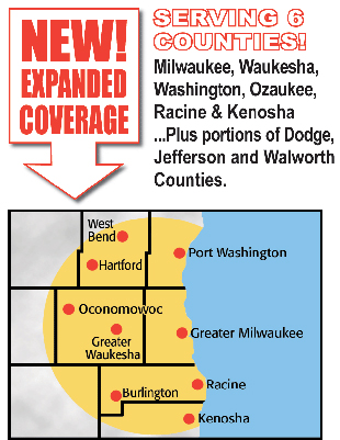 Greater Milwaukee Map